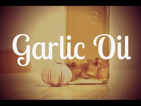Garlic Oil | Homemade Kitchen Essential