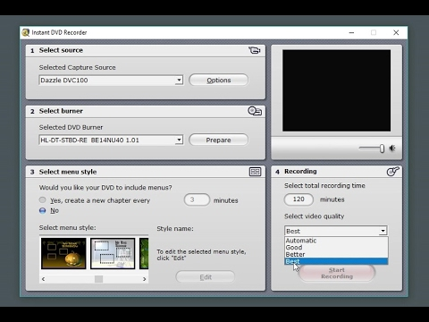 How to Digitize VHS/Hi8/Digital 8/8 Tapes to DVD Movies Easy! (+ DVC100 Method With VirtualDub)