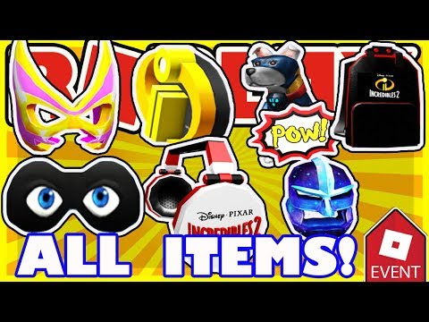 [EVENT] How To Get ALL ITEMS in Roblox Heroes Event 2018 - FULL WALKTHROUGH