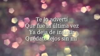 Ha-Ash Quedate Lejos ft. Maluma Letra