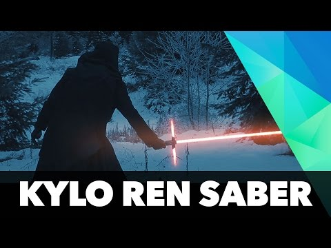 How to make Kylo Ren's lightsaber blade