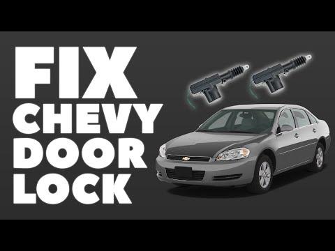 Universal Door Lock Actuator in Chevy Impala $8 Fix
