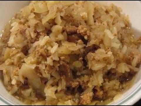 Slow Cooker Cabbage Ground Beef Stew