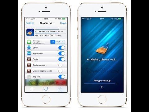 Cydia Tweak To Clean Up & Free Space On Your Iphone 5 5s Ipad And Ipod Touch NEW 2014