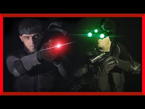 Solid Snake vs Sam Fisher | Metal Gear Solid vs Splinter Cell