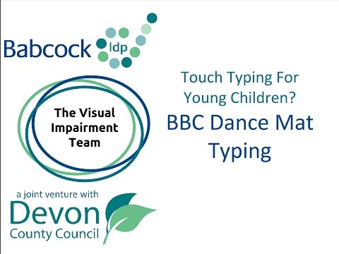 Touch Typing for Young Children- BBC Dance Mat Typing