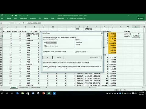 Developing Customized Forecasting Models In Excel 2016