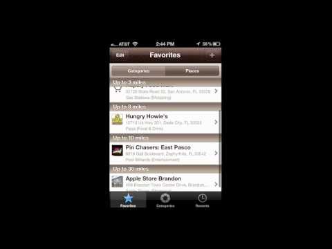Where To? - Discover your next destination using GPS iPhone App Review - CrazyMikesapps