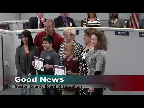 Monday, April 16, 2018 Board of Education Meeting