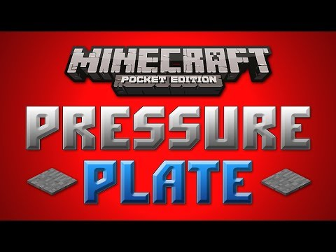 Pressure Plate Concept - Minecraft Pocket Edition