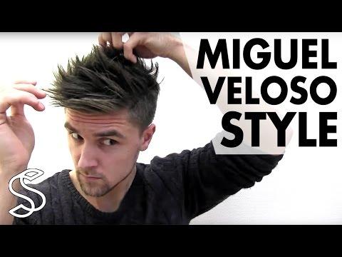 Miguel Veloso Hairstyle - Men's Football Player Hair Tutorial - Slikhaar TV