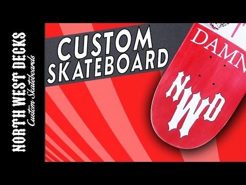 New Custom Skateboard & Die-Cut Grip Tape