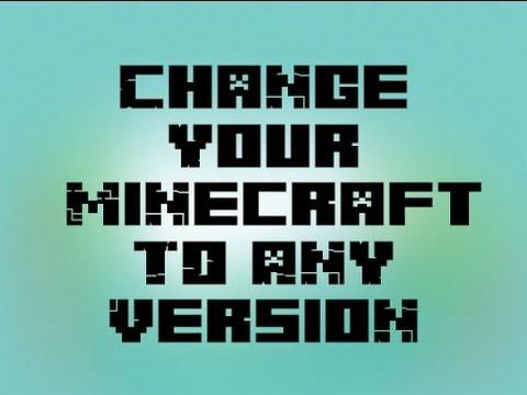CHANGE MINECRAFT VERSION | 1.7.9 BACK TO OLDER VERSION (OLD VIDEO)
