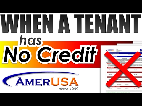 How to Screen Tenants with No Credit   Tenant Screening