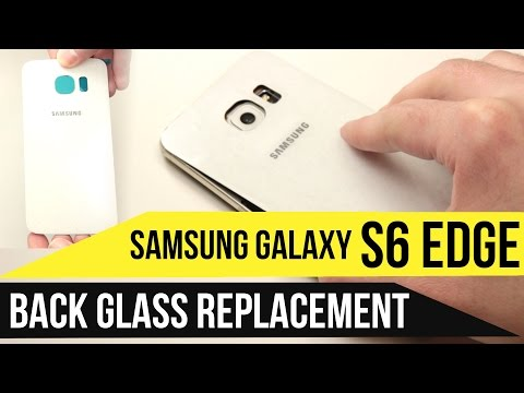 Galaxy S6 Edge Backglass Replacement Video Guide