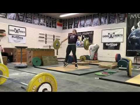 Movement Library: No Feet, Pause at Knee Snatch
