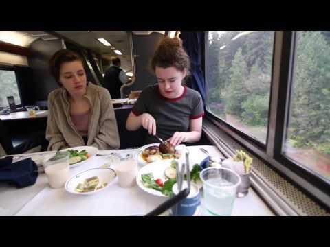 Amtrak Empire Builder Seattle WA to Red Wing, MN Superliner Bedroom Sleeper Car