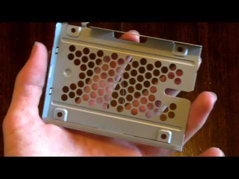 PS3 Slim Hard Drive Replacement Tutorial