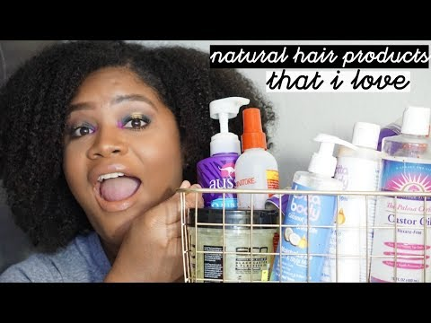 Natural Hair Products I'll Always Repurchase!