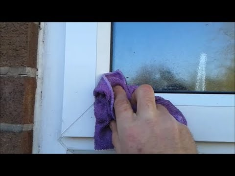 Restoring the look of  your UPVC windows