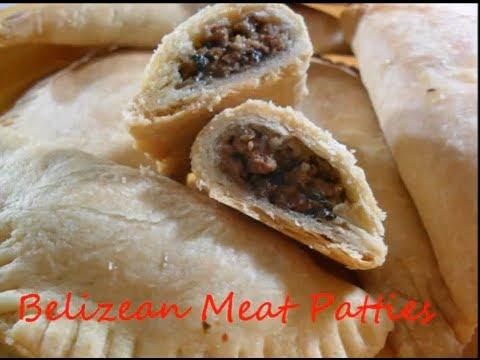 Belizean Meat Patties