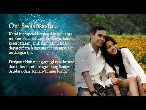 Yudi Wiradnyana and Ratih Widyanari's Wedding