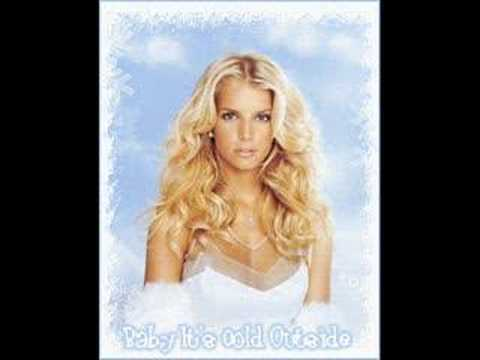 Jessica Simpson & Nick Lachey Baby It's Cold Outside