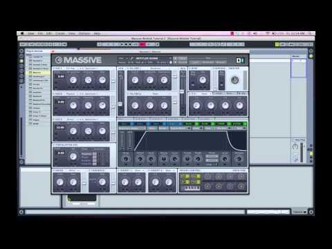 Make Dubstep Wobble Bass in Massive: HD tutorial pt 1 of 2