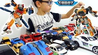 Download ТОБОТЫ 2019 Большой Челлендж - Трансформируем Тоботы и Машинки-Трансформеры! Tobot Игрушки для детей Video