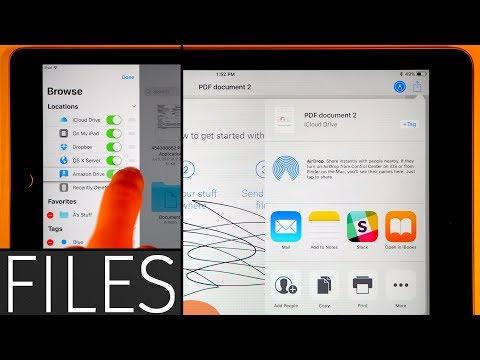 iPad Files app in-depth tutorial!
