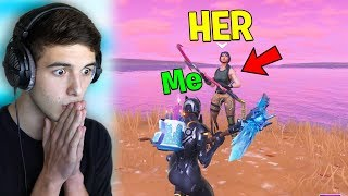 She DISAPPEARED after she WON TIER 100 BATTLE PASS! (Fortnite Battle Royale)