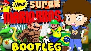 BOOTLEG New Super Mario Bros. 11-in-1 (Nintendo Wii) - ConnerTheWaffle