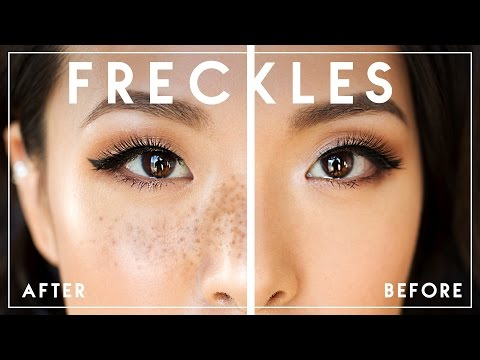 How To Draw REALISTIC FAKE FRECKLES || Try The Trend