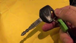 Регистрация нового ключа CBR600f4i HISS - PakVim net HD
