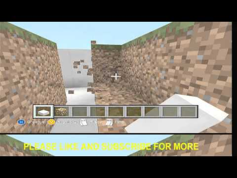 how to make a swimming pool with a diving board on minecraft