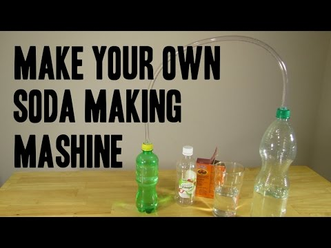 HOW TO MAKE SODA MAKING MACHINE