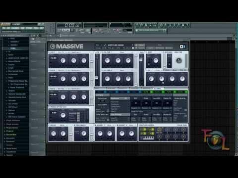 NI Massive: How to Produce a 3-Oscillator Sub Bass
