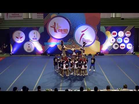 Xxx Mp4 V KING Jawa Barat CHAMPION Team Cheer Allgirl Intermediate ICANC 2018 3gp Sex