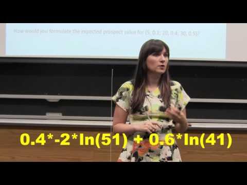 Behavioral Economics - Expected Prospect Value Discussion Question