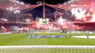 70000 FANS - GATE 13 - PANATHINAIKOS-OLYMPIAKOS 2-1 GOALS AND HIGHLIGHTS 30/10/2010