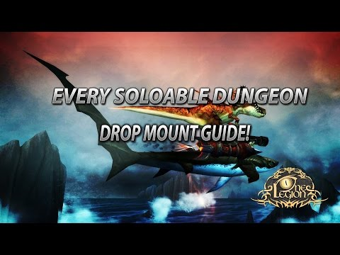 Every Soloable Dungeon Mount Drop Guide - World of Warcraft - How To Get and Where!