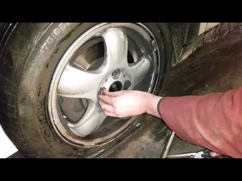 How To Remove a Locking Wheel Nut With no Key