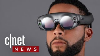 Magic Leap One headset announced (CNET News)