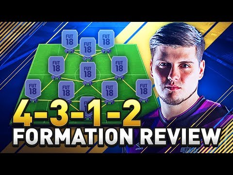 BEST FORMATION FOR QUICK BUILD UP PLAY IN FIFA 18! 4312 FORMATION GUIDE IN ULTIMATE TEAM!