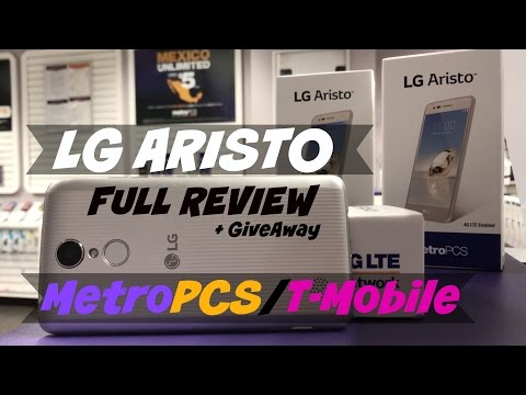 LG Aristo FULL REVIEW + GiveAway MetroPCS/T-Mobile |HQ|