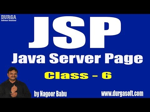 Learn JSP Tutorials || Example on JSP Scripting Elements|| by Nagoor Babu Sir On 21-05-2018