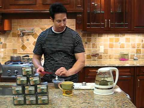How to properly steep Jiaogulan Tea