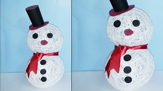 Download Easy art and craft ideas:How to make cute Snowman /Handcraft Video