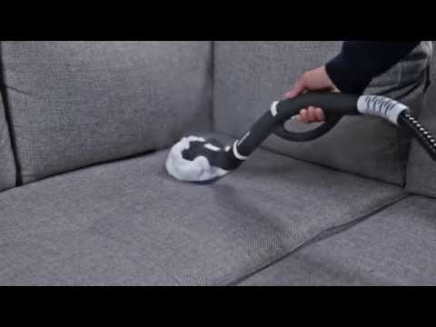 How to Clean a Fabric Sofa with a Steam Cleaner