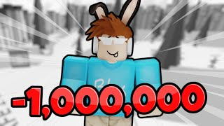 How I Lost 1,000,000 Robux..